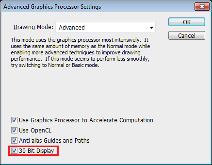10Bit-Advance-Graphics-Processing-Settings